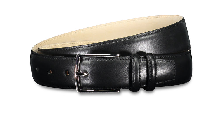 Sheen leather belt black (2014445961278)