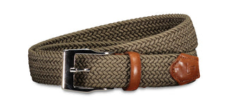 Stretch belt brown