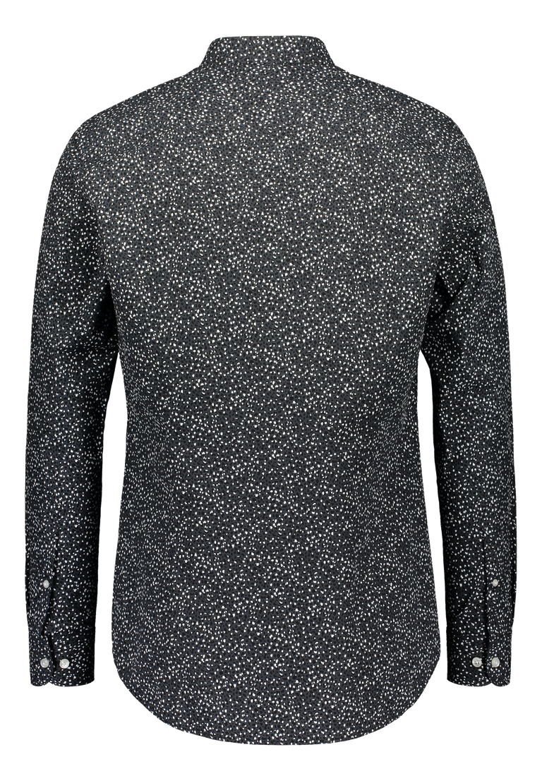 Slim fit shirt Pyry in Albini dark print (2318897479742)