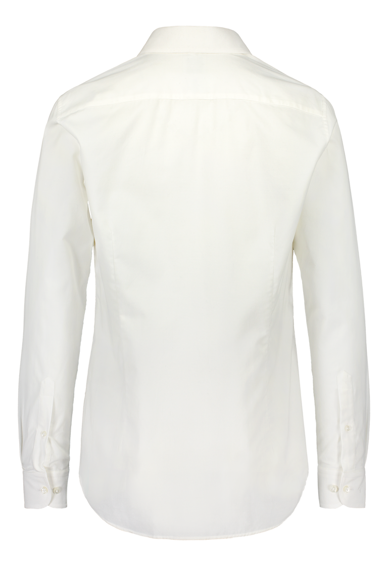 Relaxed white workwear shirt in Albiate corduroy (2318702346302)