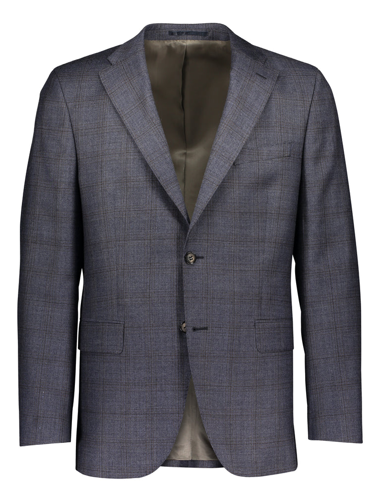 Modern fit suit prince of Wales