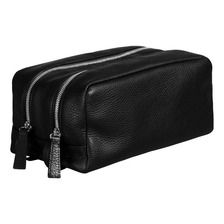 Leather toiletry bag (1409137377342)