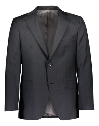 Modern fit suit luxury shadow plaid