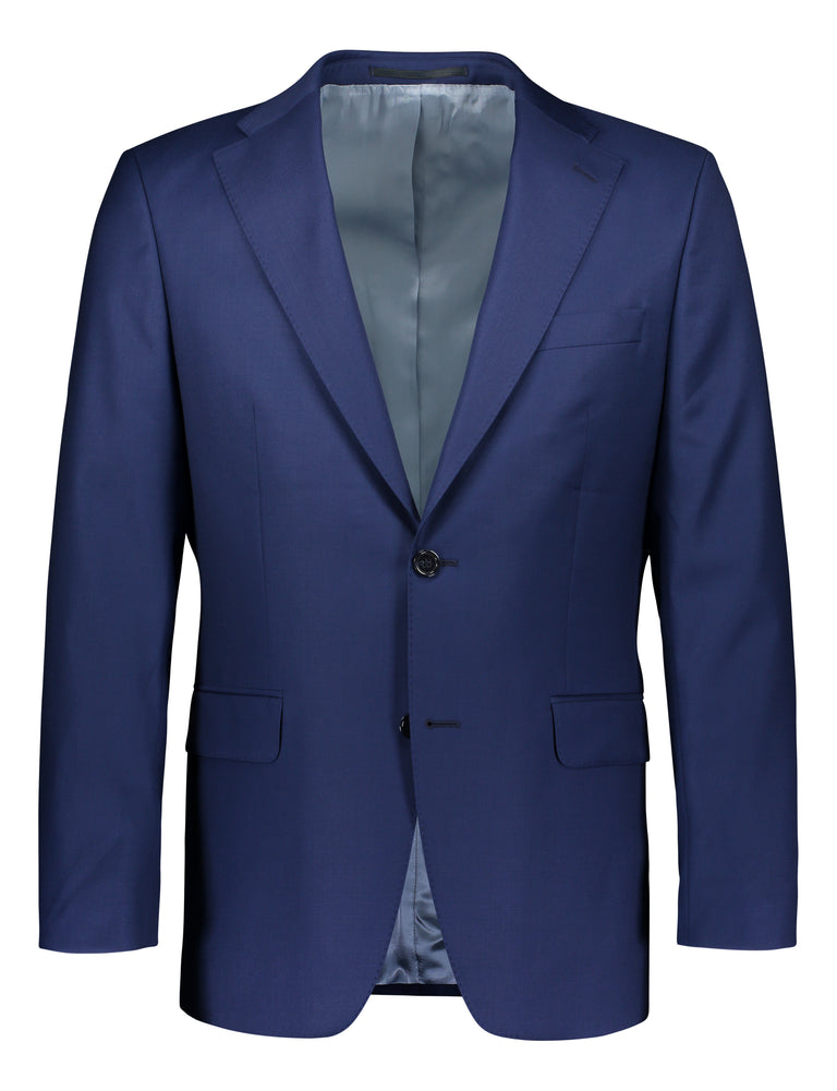 Sheen formal luxury wool in blue