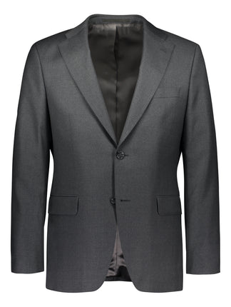 Three piece woolen suit in charming grey
