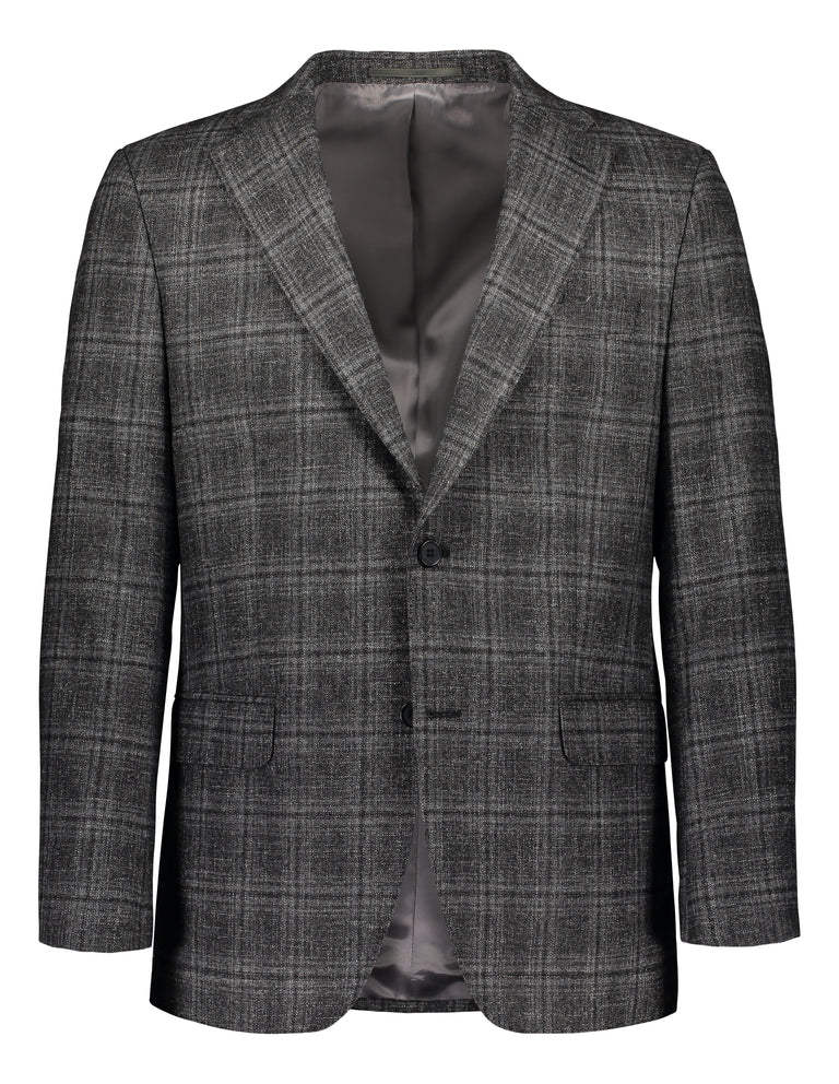 Modern fit blazer broken check