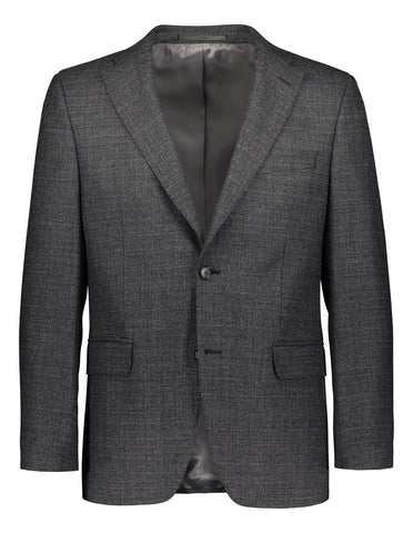 Modern fit blazer structured