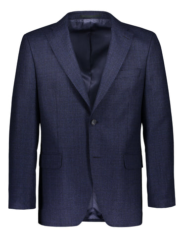Modern fit blazer structured blue