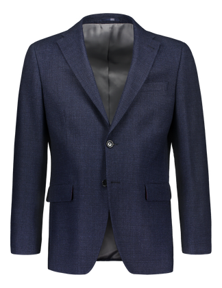 The work blazer in blue wool (4270131281982)