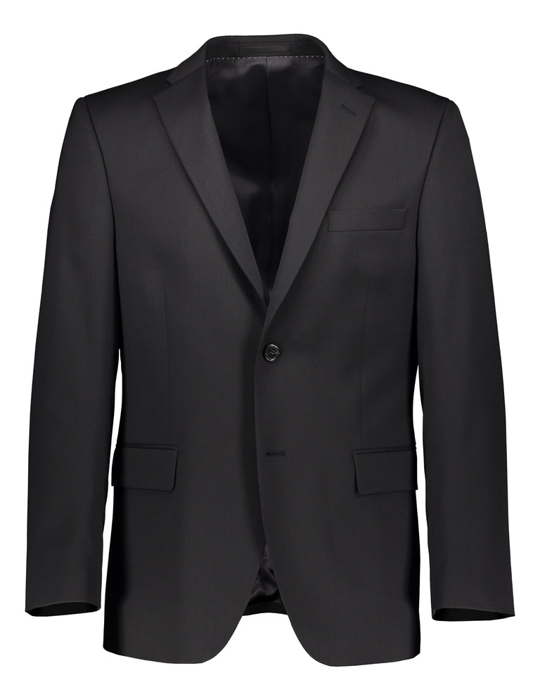 Modern fit suit with nano finish