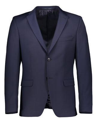 Extra slim fit blazer navy (1446928547902)