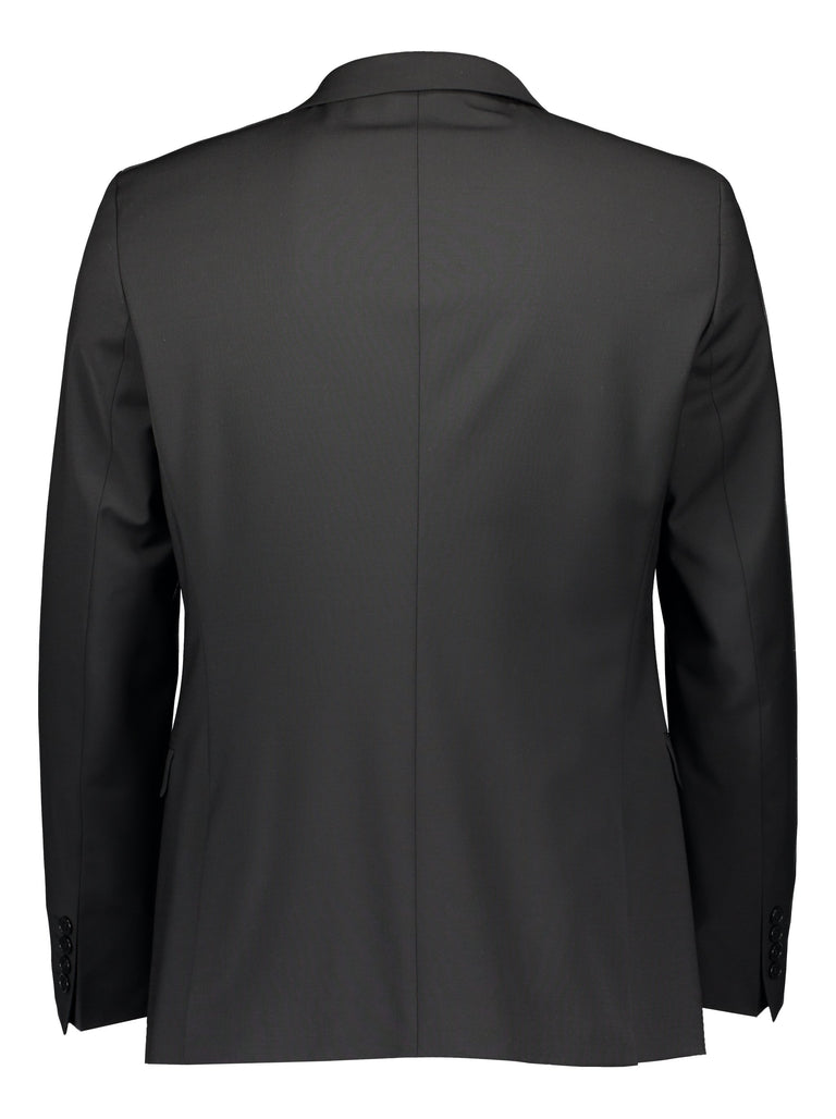 Extra slim fit blazer black (1446876577854)