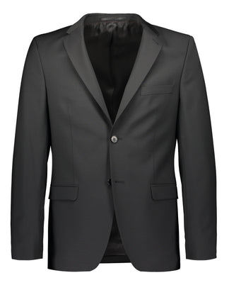 Extra slim fit suit in black