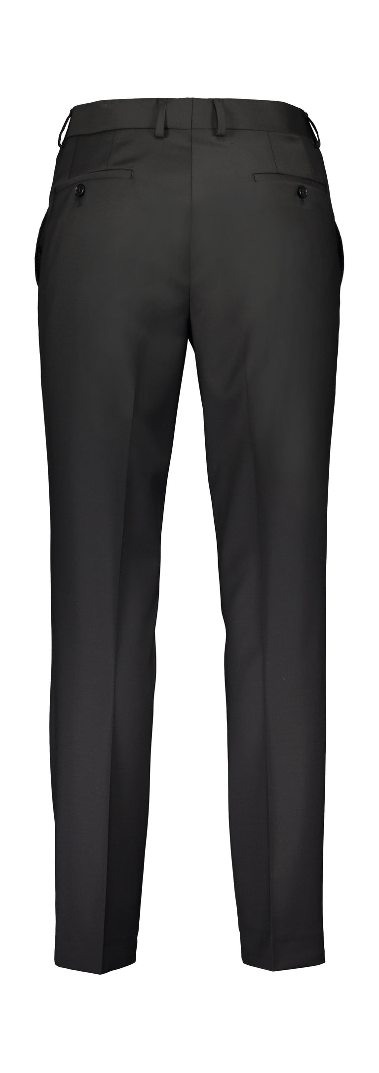 Extra slim fit trousers black (1446910591038)