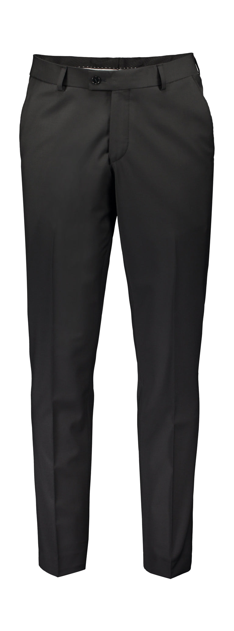 Extra slim fit trousers black