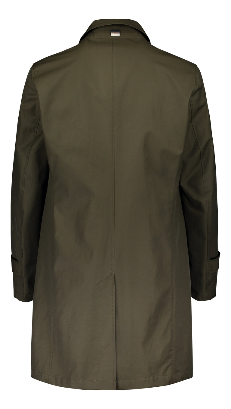 Wind & Waterproof coat in dark green