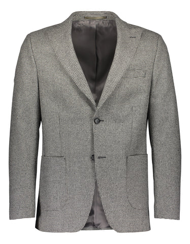 Slim fit blazer luxury houndstooth