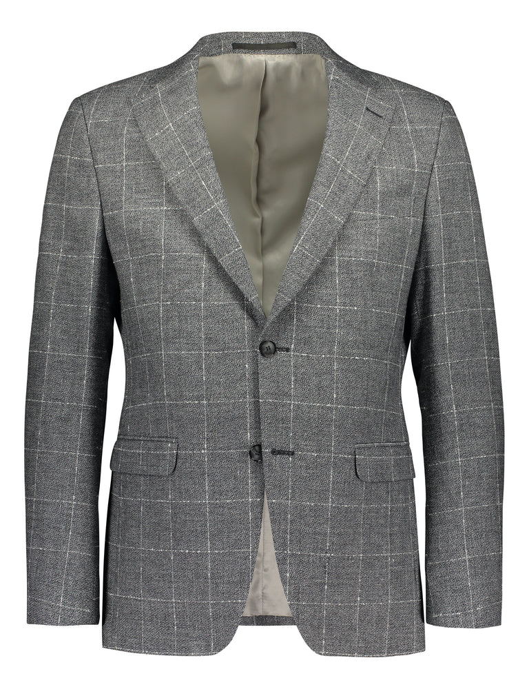 Relaxed summer blazer in grey