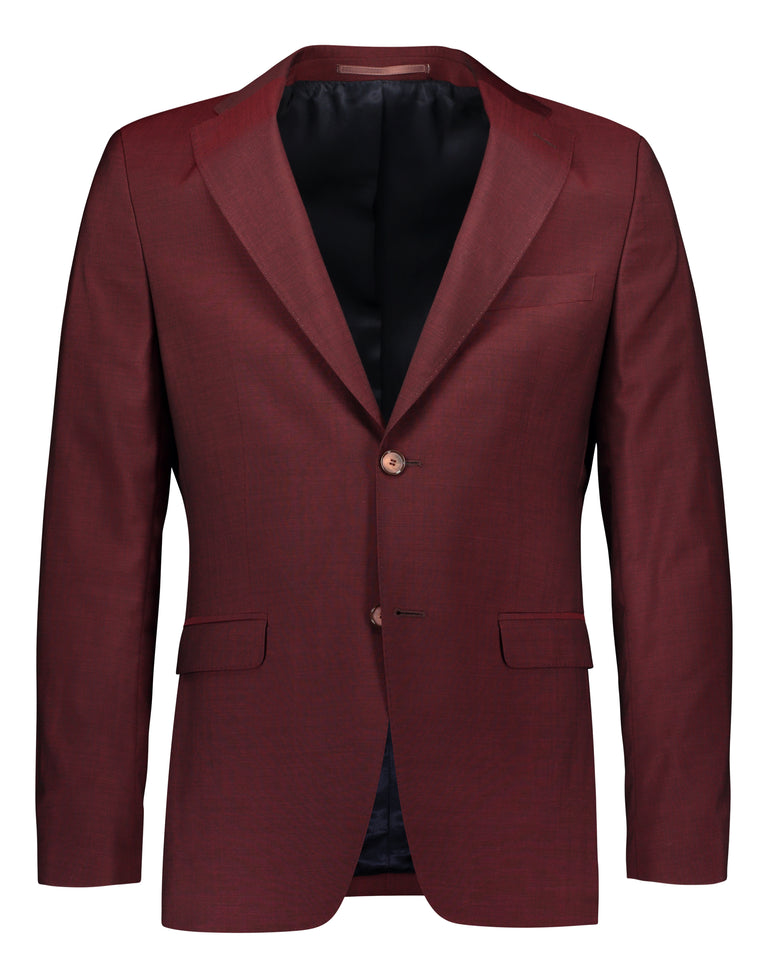 Slim fit suit in Tollegno mohair look