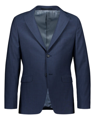 Blue slim fit suit in Tollegno mohair look (2145250869310)