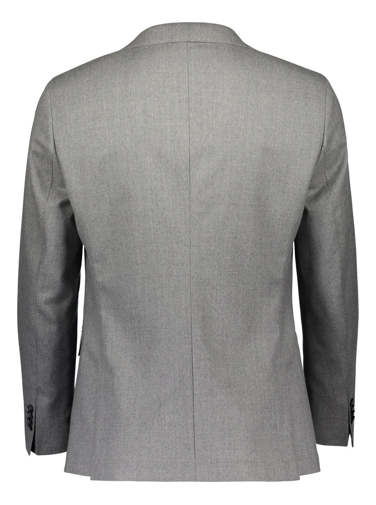 Slim fit suit in grey flannel