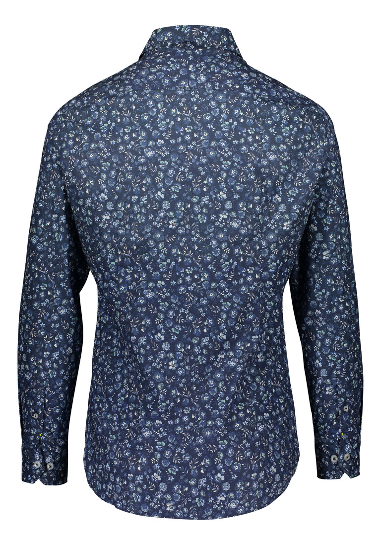Slim fit shirt from Thomas Mason in floral print