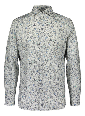 Slim fit shirt from Thomas Mason in fresh print