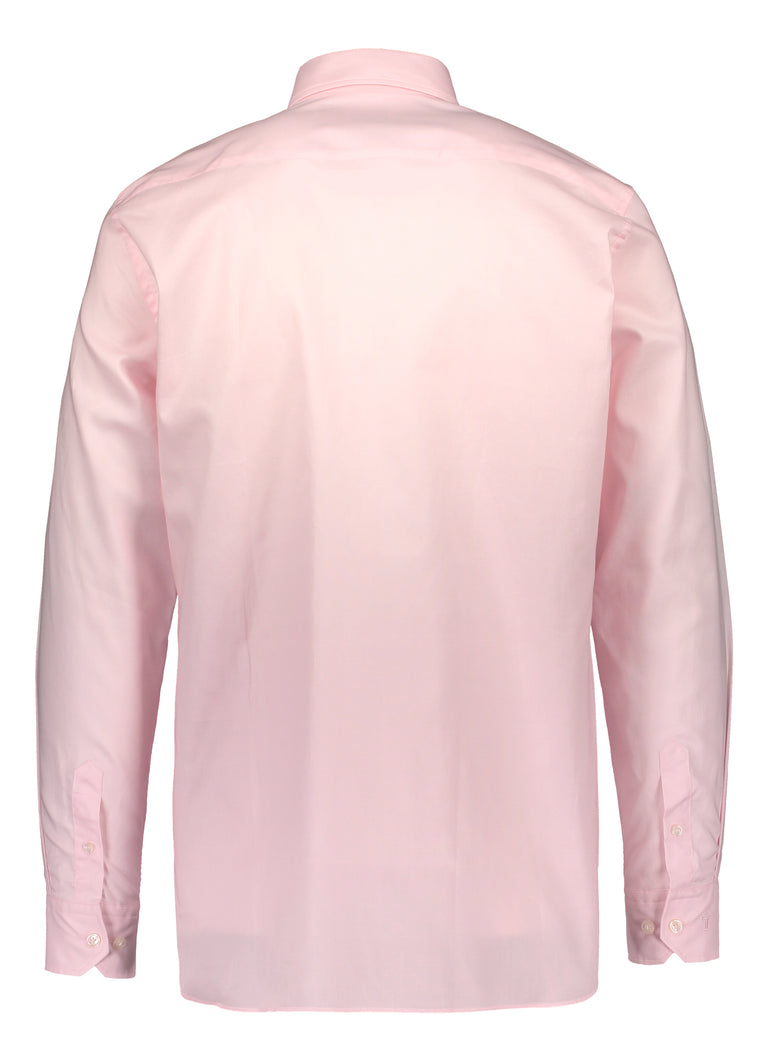 Modern fit shirt in Albini oxford pink