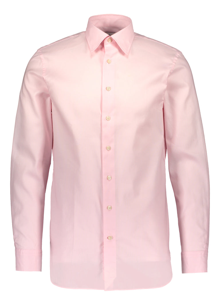 Modern fit shirt in Albini oxford pink (2013249372222)