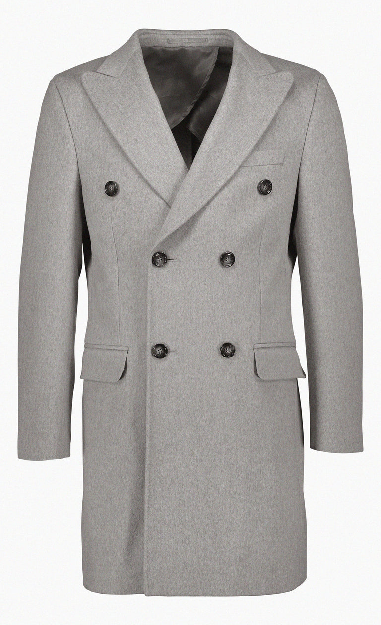 Loro Piana wool in light grey