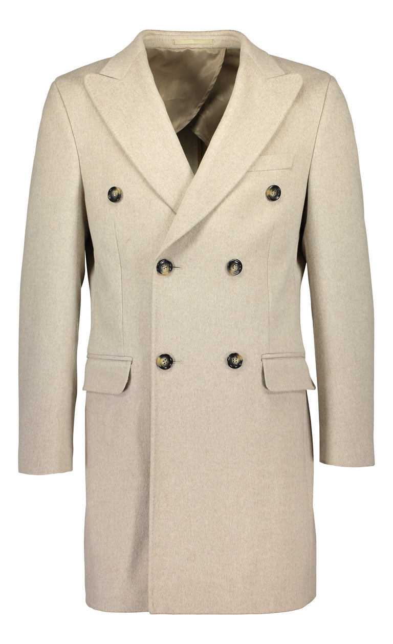 Double breasted overcoat in Loro Piana wool (1448291762238)