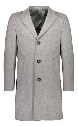 Ulster in grey Loro Piana wool