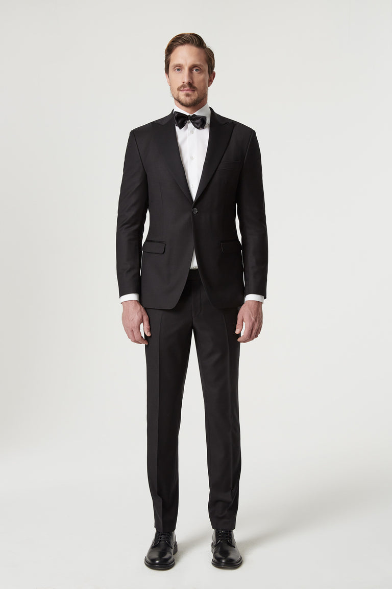 Slim fit tuxedo  in wool