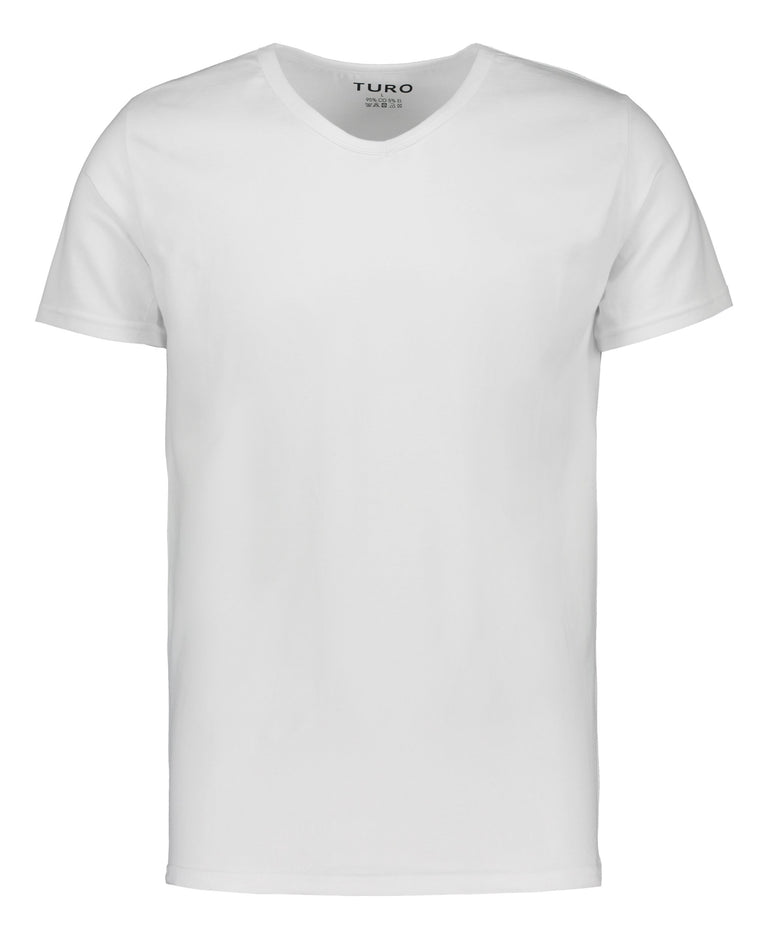 White t-shirt dual-pack