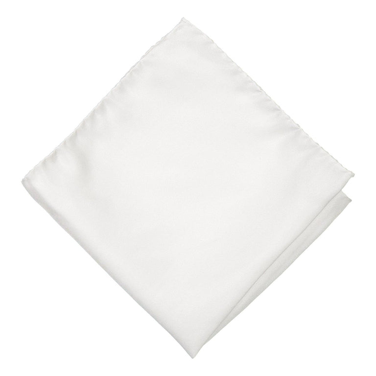 Silky white pocket square (4381204217918)