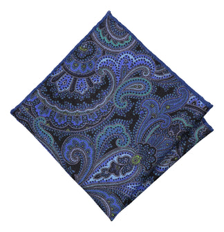 Pocket square soft blue