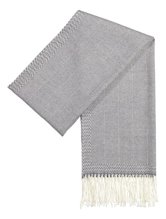 Scarf luxury wool grey (1409064632382)