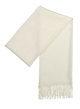 Scarf luxury wool cream