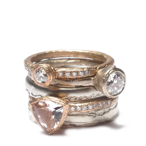 Diana Porter Contemporary Jewellery design, Bristol. Bespoke Wedding and engagement ring
