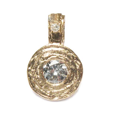 Bespoke - Heirloom Gold and Diamond Pendant