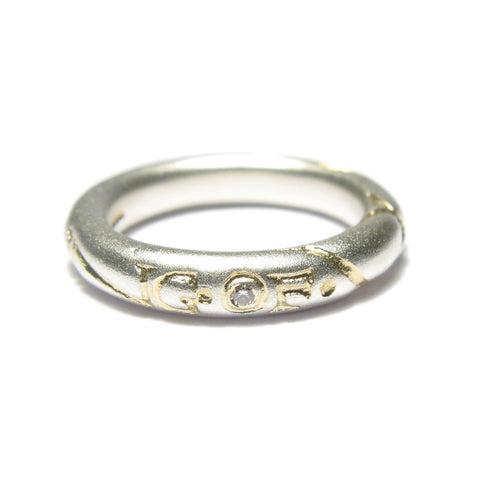 Silver 'The Feeling Of We' Ring