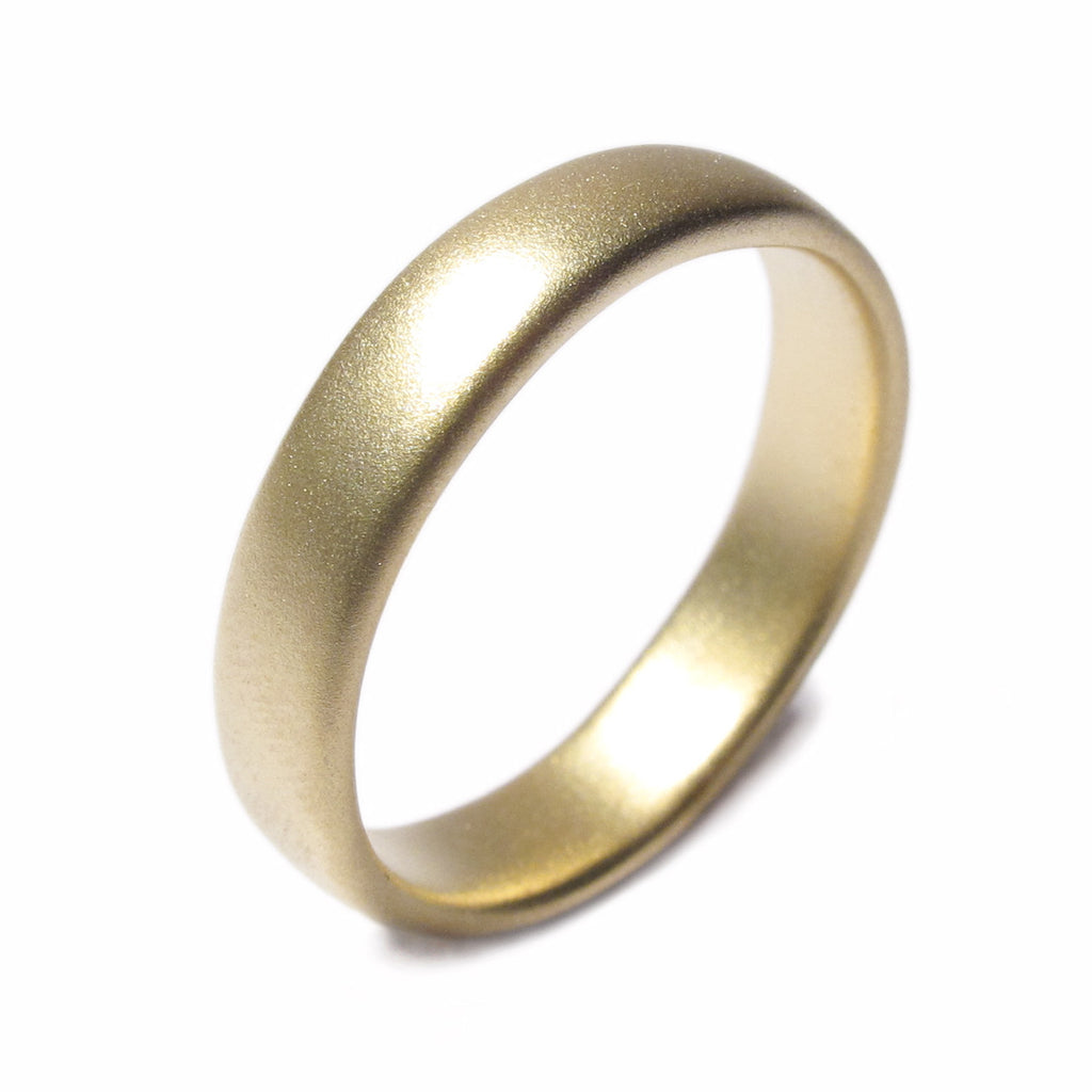 diana Porter Contemporary Jewellery design Bristol, Fairtrade Gold wedding band