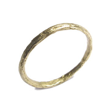 Diana Porter Jewellery unique yellow gold wedding ring