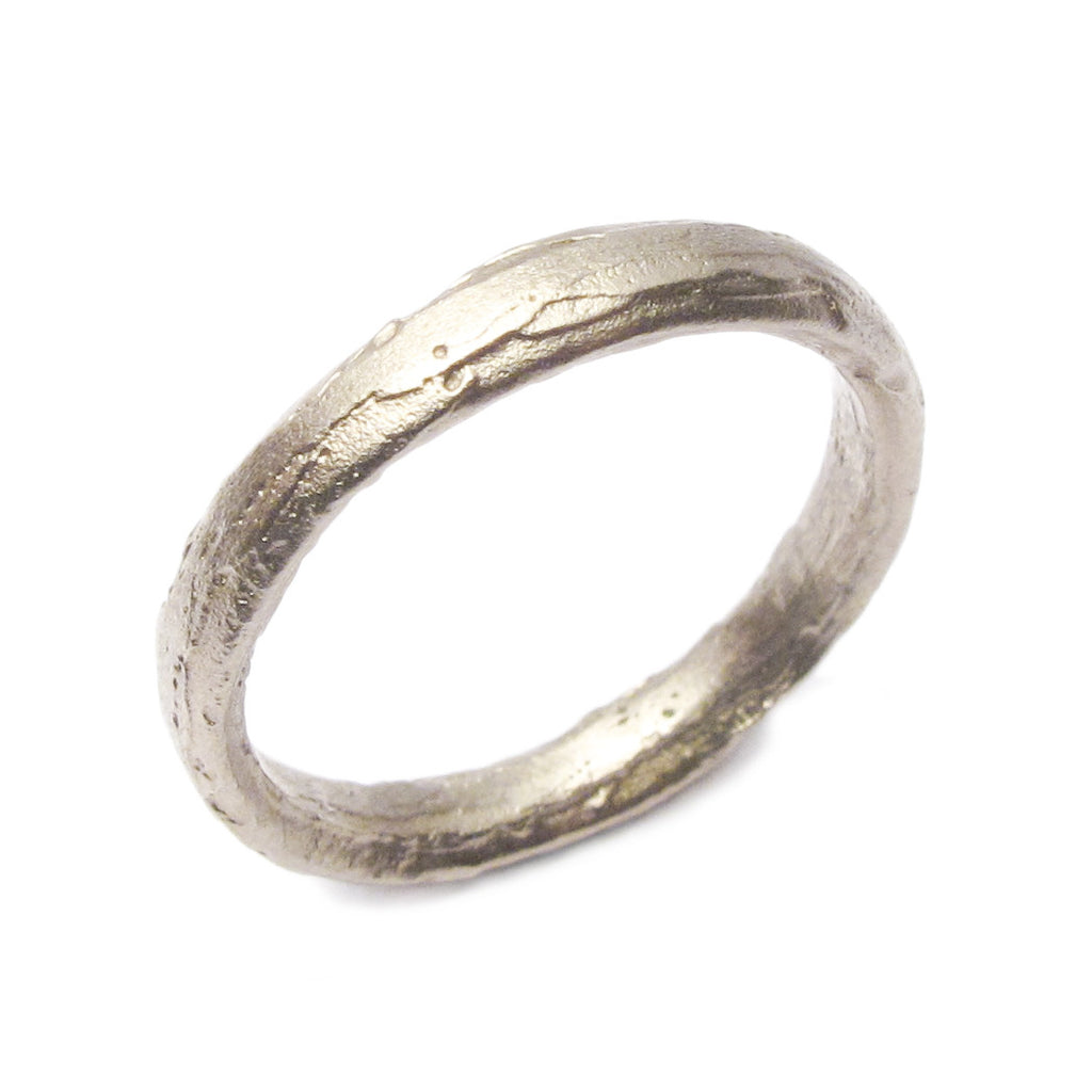 Diana Porter Jewellery contemporary white gold wedding ring