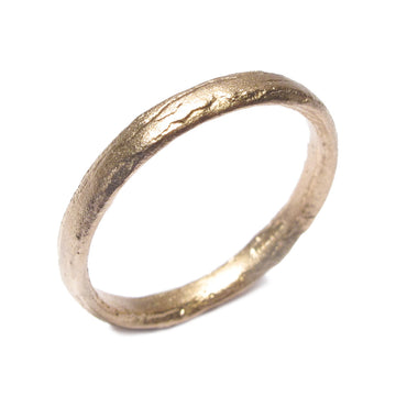 Diana Porter Jewellery unique rose gold wedding ring