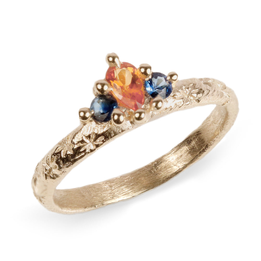 Ciara Bowles Orange Crown Ring