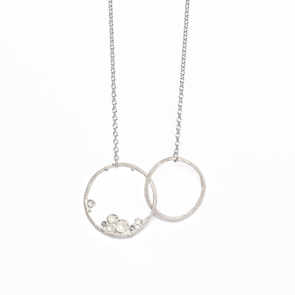 necklace s silver pendant products sterling gold linked rose classic link hoops and hoop in women round plated silverly