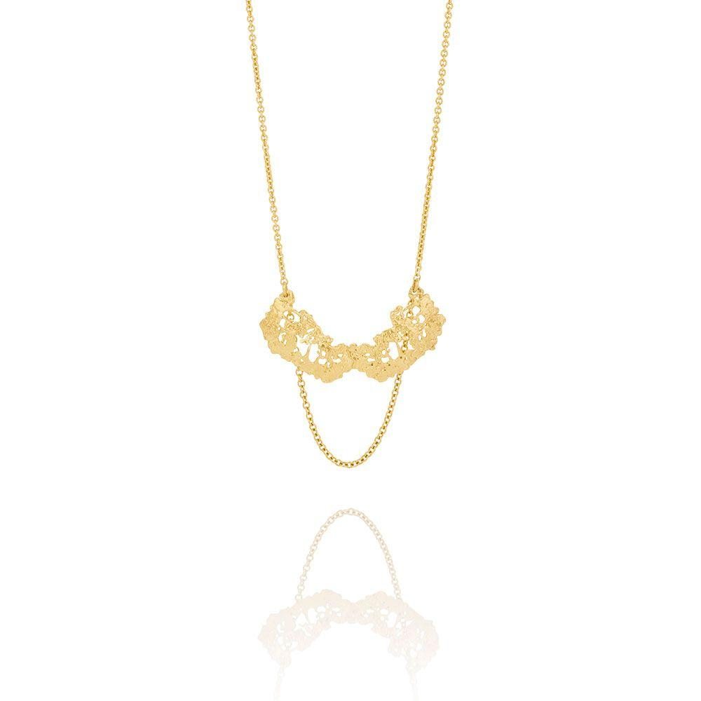 Aurum Gold Plate Erika Necklace