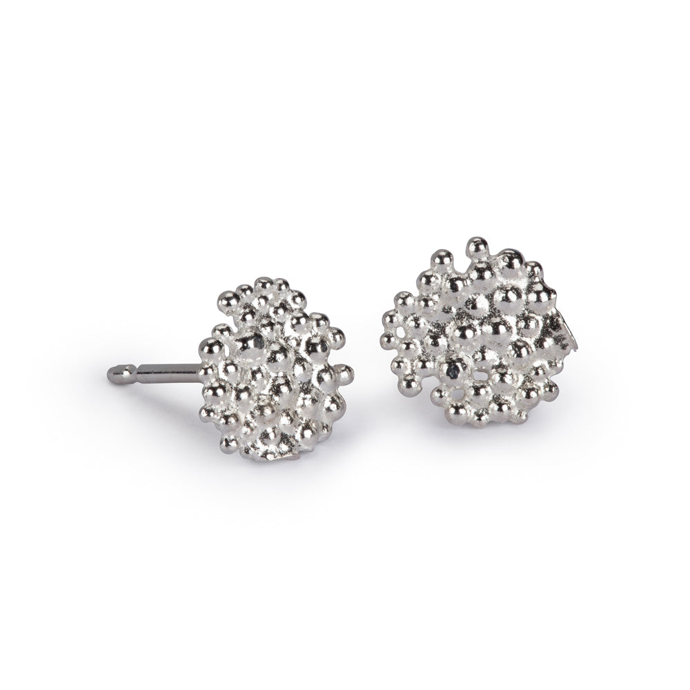 Hannah Bedford Berry stud Earrings Silver