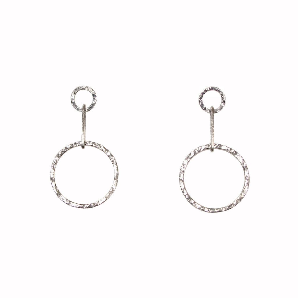 Hannah Felicity Dunne circle drop earrings